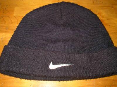 ナイキのニット帽.JPG