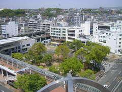 豊田松坂屋9Fから見た街並み.JPG
