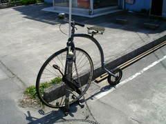 看板娘ならぬ看板自転車.JPG